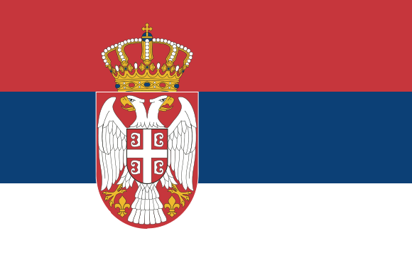 Bojana Kovacevic's' country flag